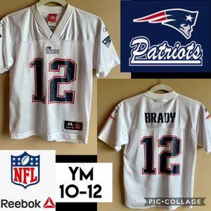NFL New England Patriots Tom Brady 12 Jersey Youth